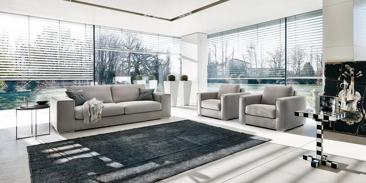 Итальянская мягкая мебель, диваны и кресла от Alberta Salotti