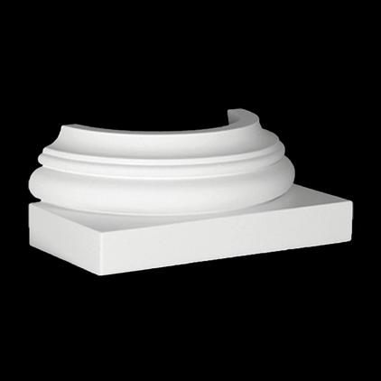 Полуколонна база 1.17.500 (260x110x130 мм)
