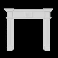 Элементы декоративного камина 1.64.100 (1295x1097x195 мм)