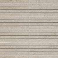 Мозаика (30x30) Marvel Stone Clauzetto White Mosaico Bacchetta