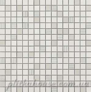 Мозаика (30.5x30.5) Mark White Mosaic